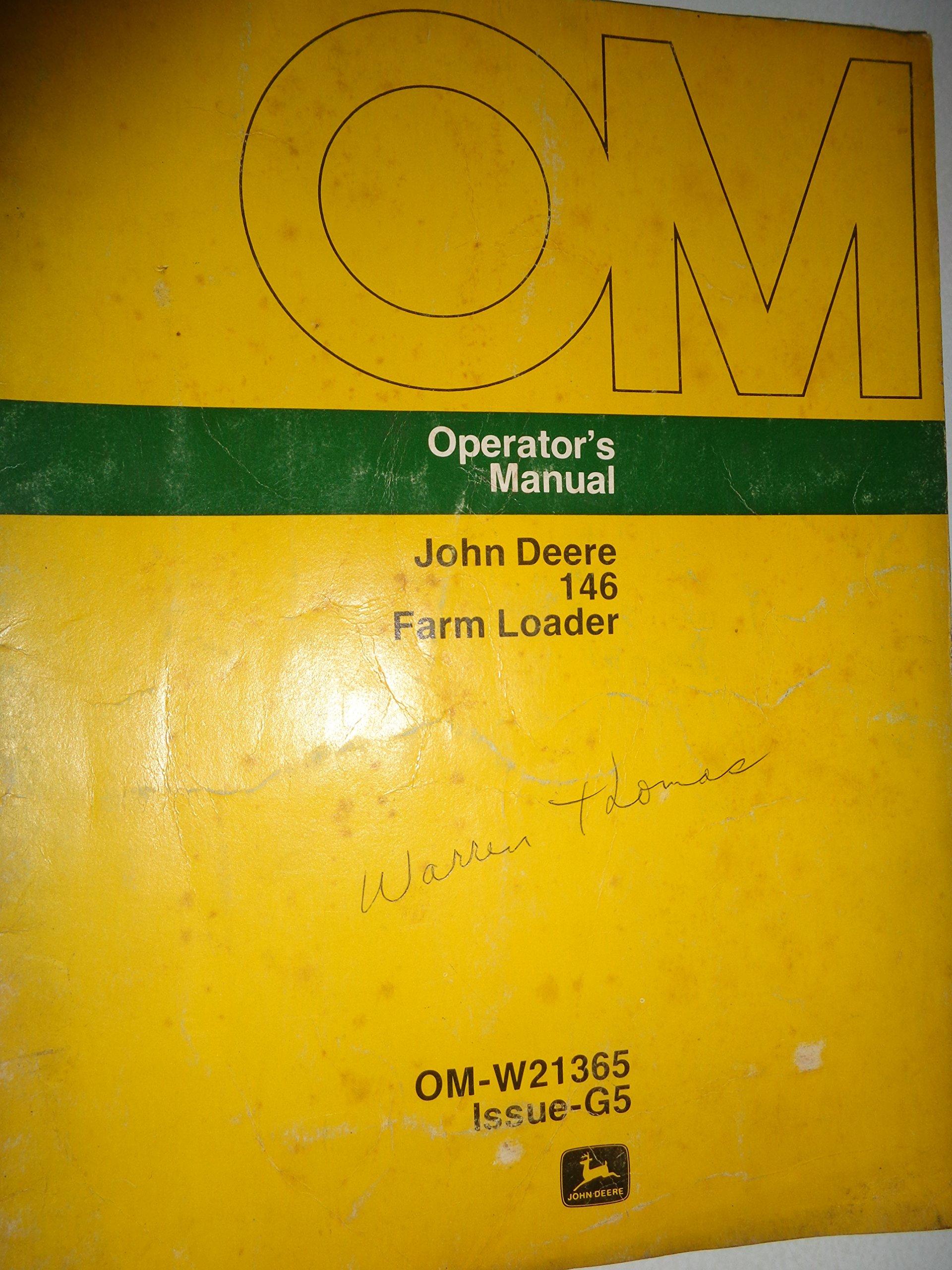 john deere 145 manual