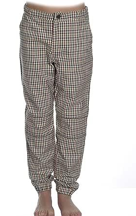 MPL Pantalon Niño a Cuadros Elastico Largo de Algodón. Caliente para el Frio Invierno, Otoño. Ropa de Niños y Niñas Pantalon para Colegio o Uniforme Escolar