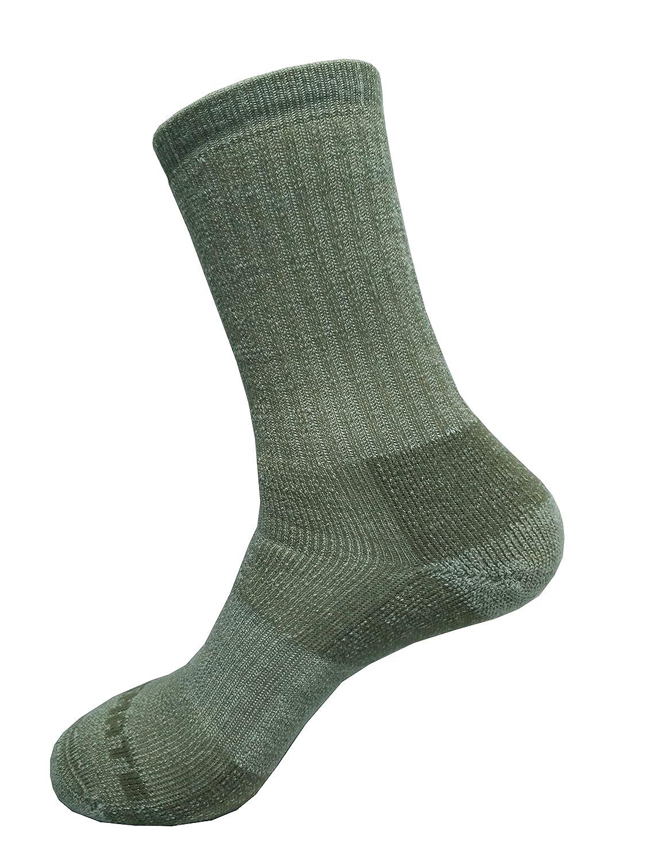 9780b0ad7af1 Amazon.com: Ultimate Socks Merino Wool Midweight Hiker Crew Sock: Clothing