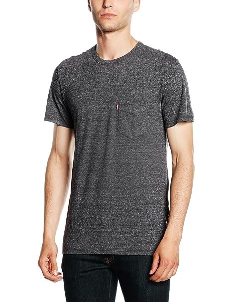 12d514fc88aa Levi s Men s Short Sleeve Sunset Pocket Tee T-Shirt  Levis  Amazon.co.uk   Clothing