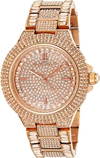 : Michael Kors Women's Camille Gold Tone Watch
