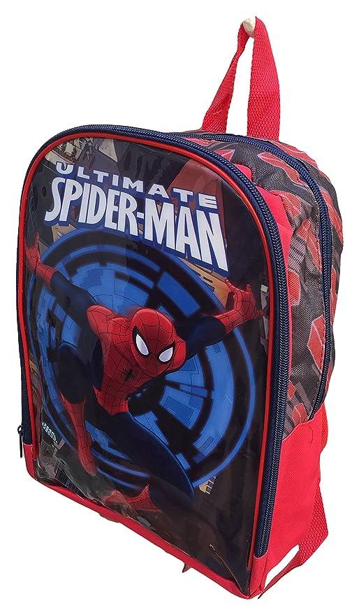 Mochila Bolsa Spiderman Marvel Asilo 30 cm - AST1942