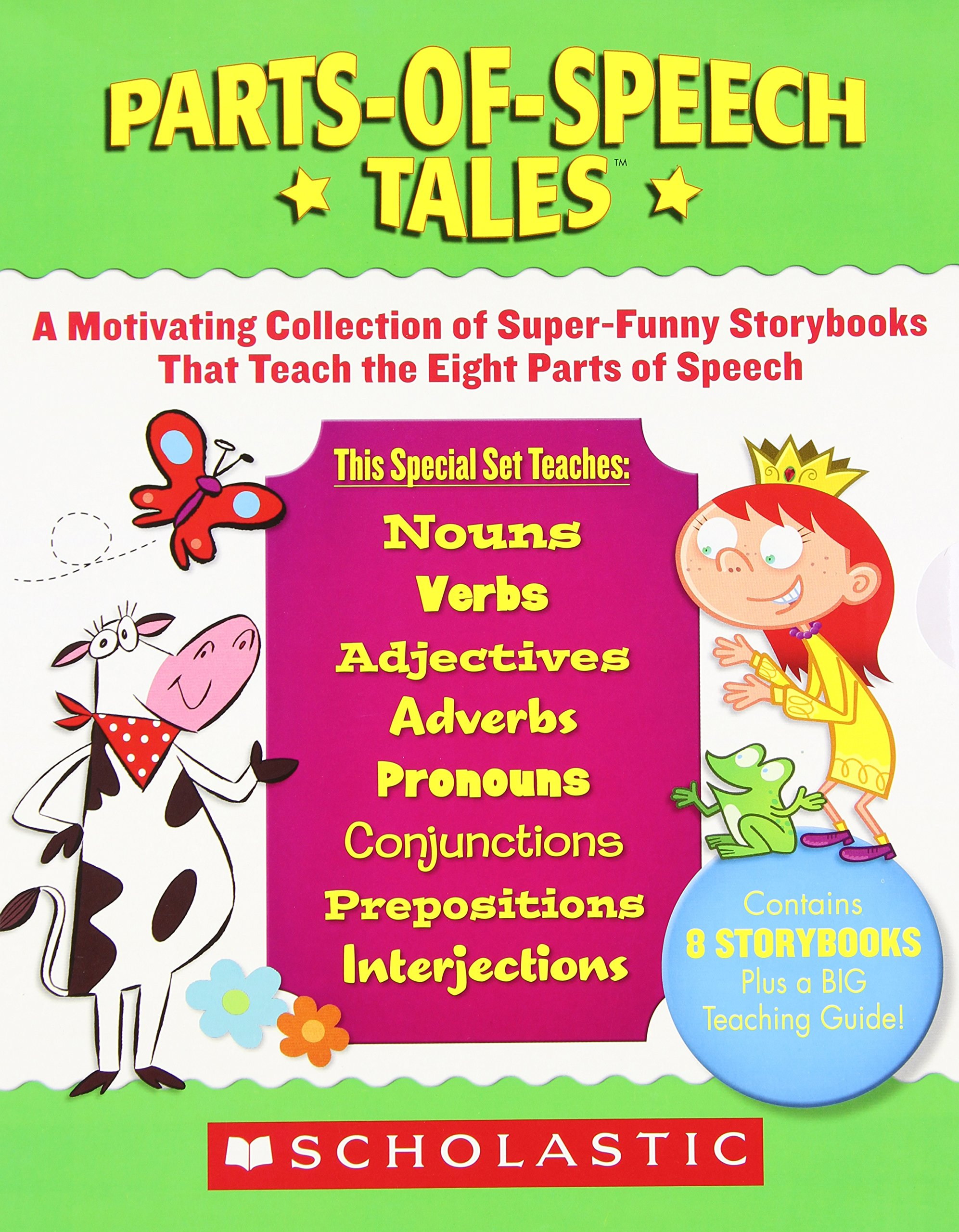 parts of speech storybooks for kids