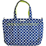 Ju-Ju-Be Classic Collection Super Be Zippered Tote Diaper Bag, Royal Envy