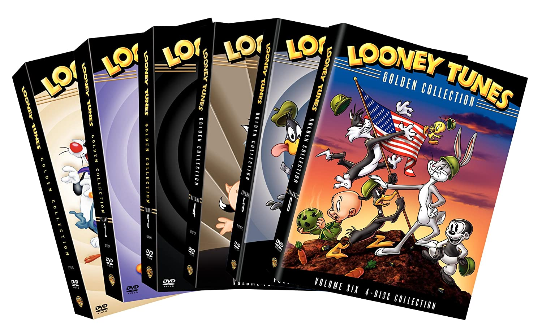 Amazon com: Looney Tunes Golden Collection Vol  1-6 (DVD) (6