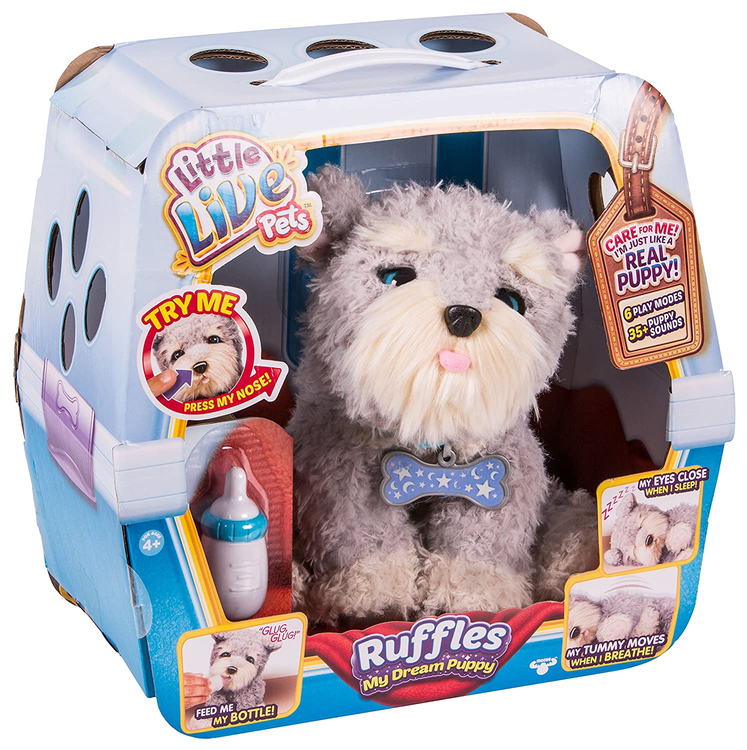 Amazon Little Live Pets Ruffles My Dream Puppy Toys & Games