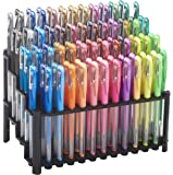 ECR4Kids GelWriter Gel Pens Set Premium Multicolor set in Stadium Stand (100-Count)