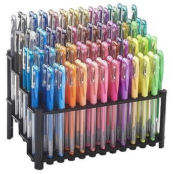 ECR4Kids GelWriter Gel Pens Set Premium Multicolor set in Stadium Stand  (100-Count)
