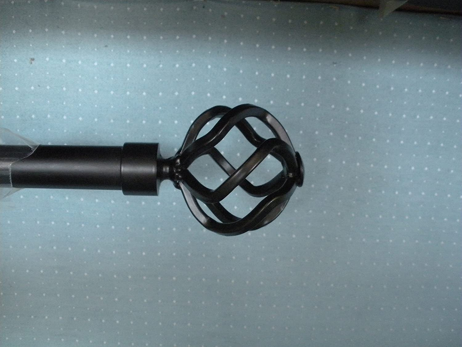 Black Bird Cage Finials for 1