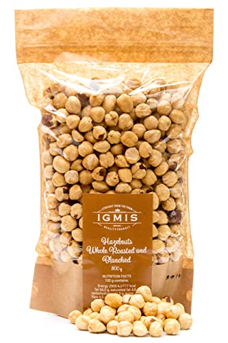 Igmis Blanched and Roasted Whole Hazelnuts 800g