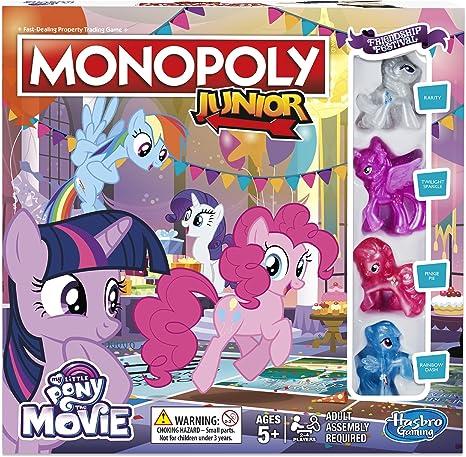 Hasbro Gaming- Monopoly Junior My Little Pony Friendship is Magic (B84173480): Amazon.es: Juguetes y juegos