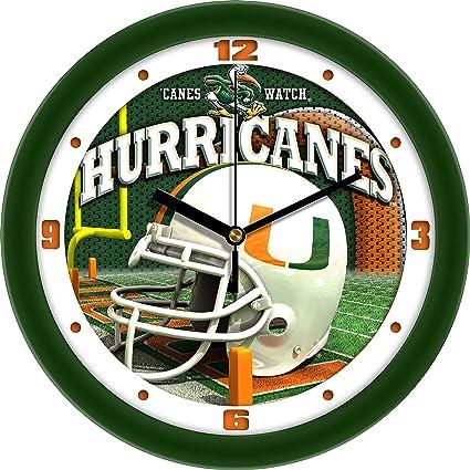 SunTime Clemson Tigers Football Helmet Wall Clock