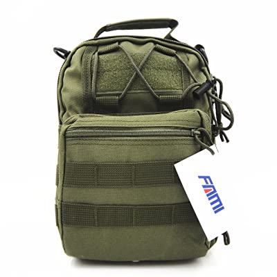 FAMI Outdoor Tactical Shoulder Backpack for Camping, Hiking