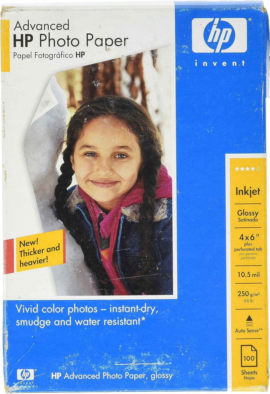 HP Advanced Photo Paper PAPER,ADV PHOTO, 100 sheets