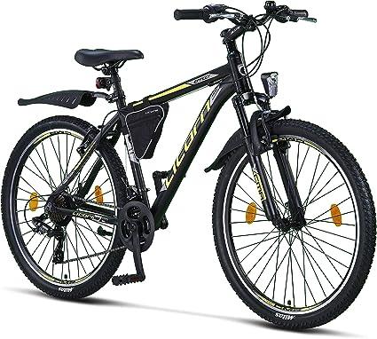 Herren und Damen Jungen Gang-Schaltung Shimano 21 18 bei 20 Zoll Licorne Bike Guide Premium Mountainbike- Fahrrad f/ür M/ädchen