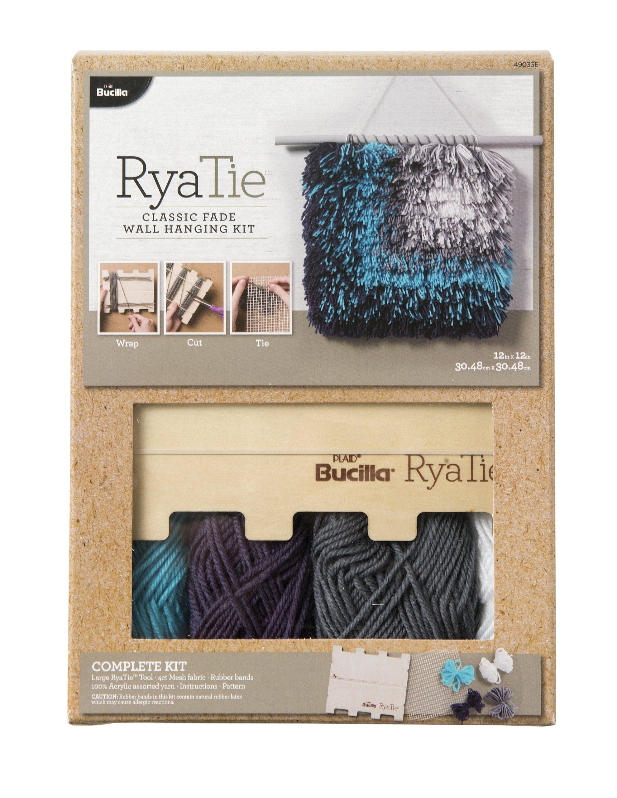 Bucilla 49033E Classic Fade Wall Hanging RyaTie Kit