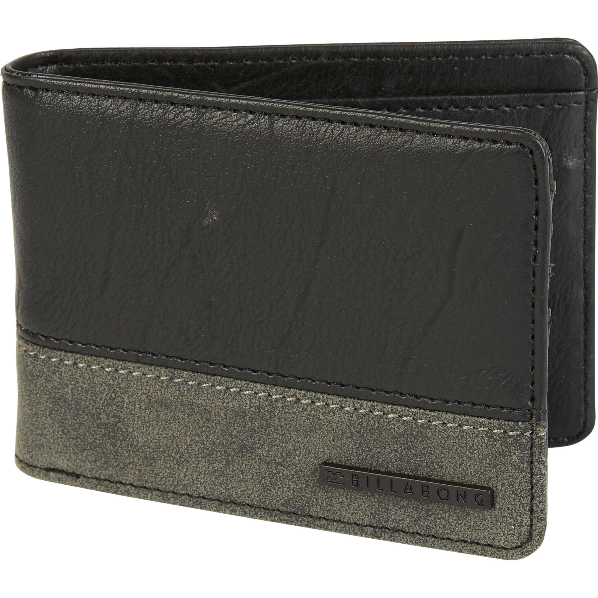 Billabong Men's Dimension Wallet, Stealth, ONE