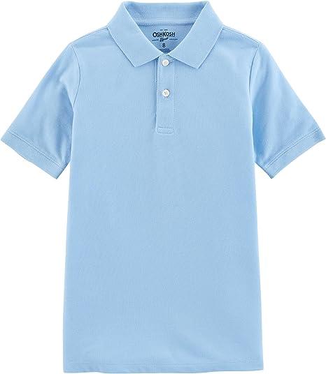 OshKosh Bgosh Piqu/é Polo Blue