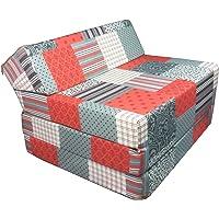 Natalia Spzoo Matelas lit 200 x 70 cm Fauteuil futon Pliable Pliant Choix des Couleurs - Longueur 200 cm