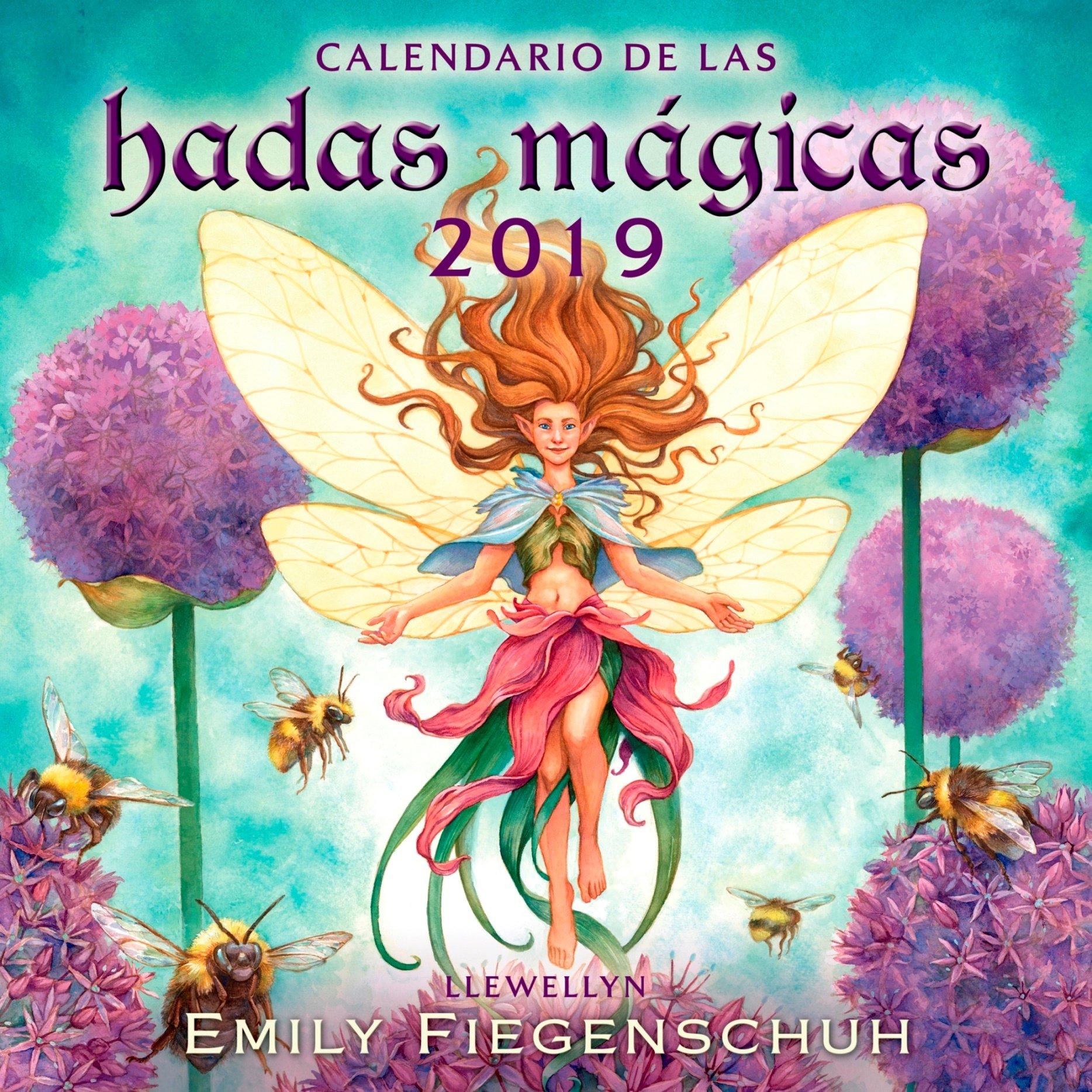 Calendario de las Hadas mágicas 2019 (AGENDAS) Tapa blanda – Calendario mural, 3 sep 2018 Llewellyn EDICIONES OBELISCO S.L. 8491113649 NON-CLASSIFIABLE