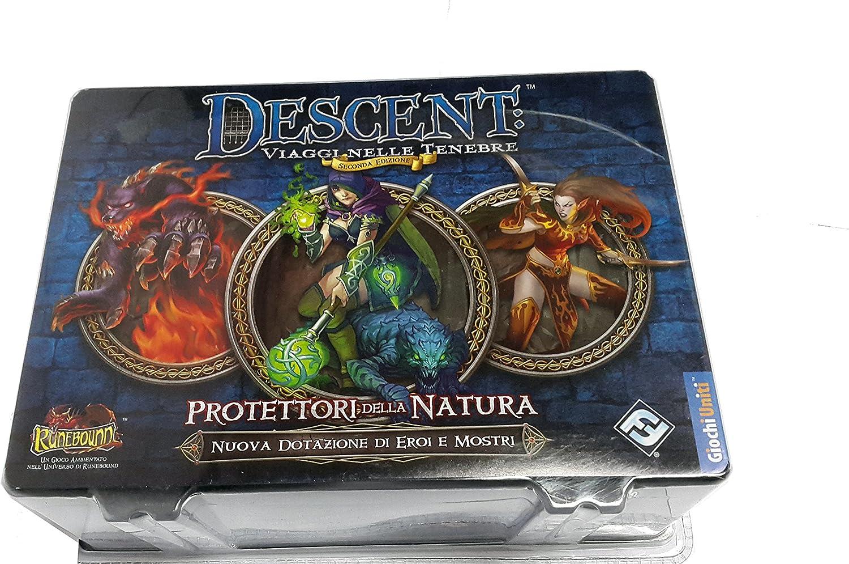 Giochi Uniti GU474 – Juego Descent Viaggi Nelle Tenebre: Protectores de la Naturaleza: Amazon.es: Juguetes y juegos