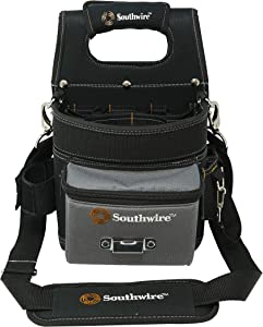 Southwire Tools & Equipment BAGESP Electrician's Shoulder Pouch Tool Carrier