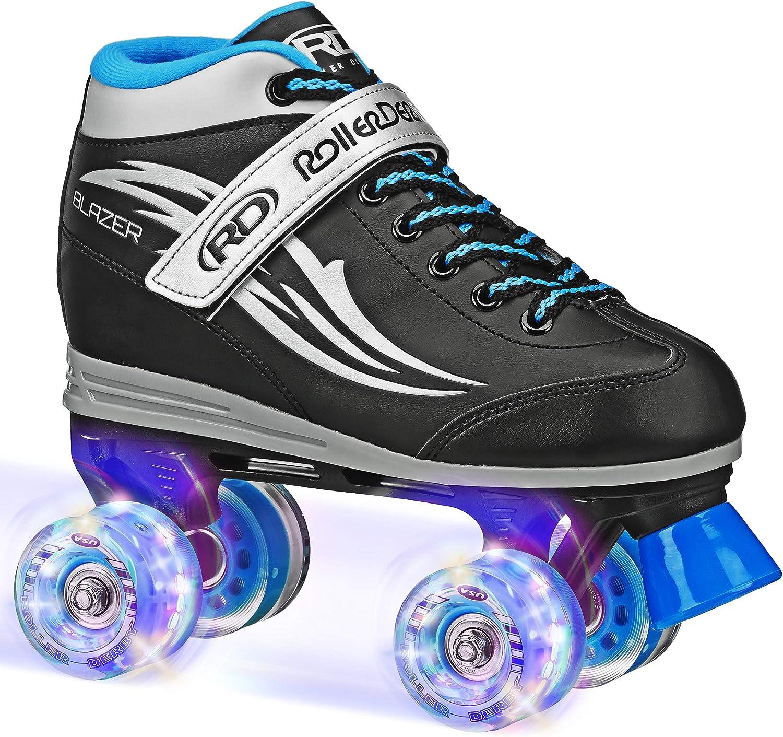 Roller Derby Boys Blazer Lighted Wheel Roller Skate