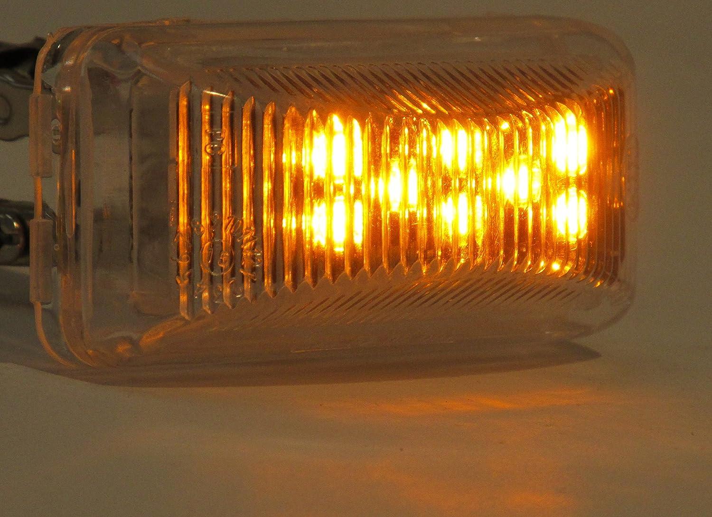 Kaper II 1A-S-1238AI Amber LED Marker//Clearance Light