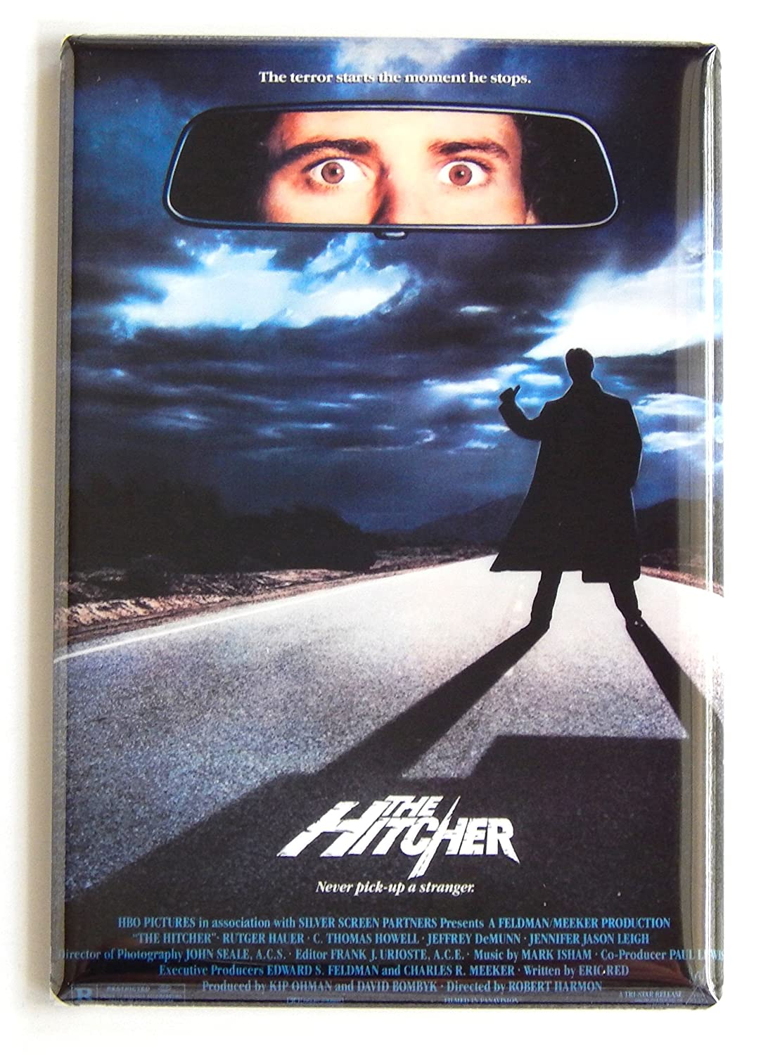 The Hitcher Movie Poster Fridge Magnet (2.5 x 3.5 inches)
