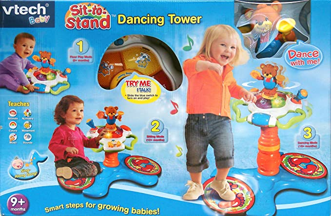 Amazon.com: VTech – sit-to-stand el baile Tower (suspendido ...