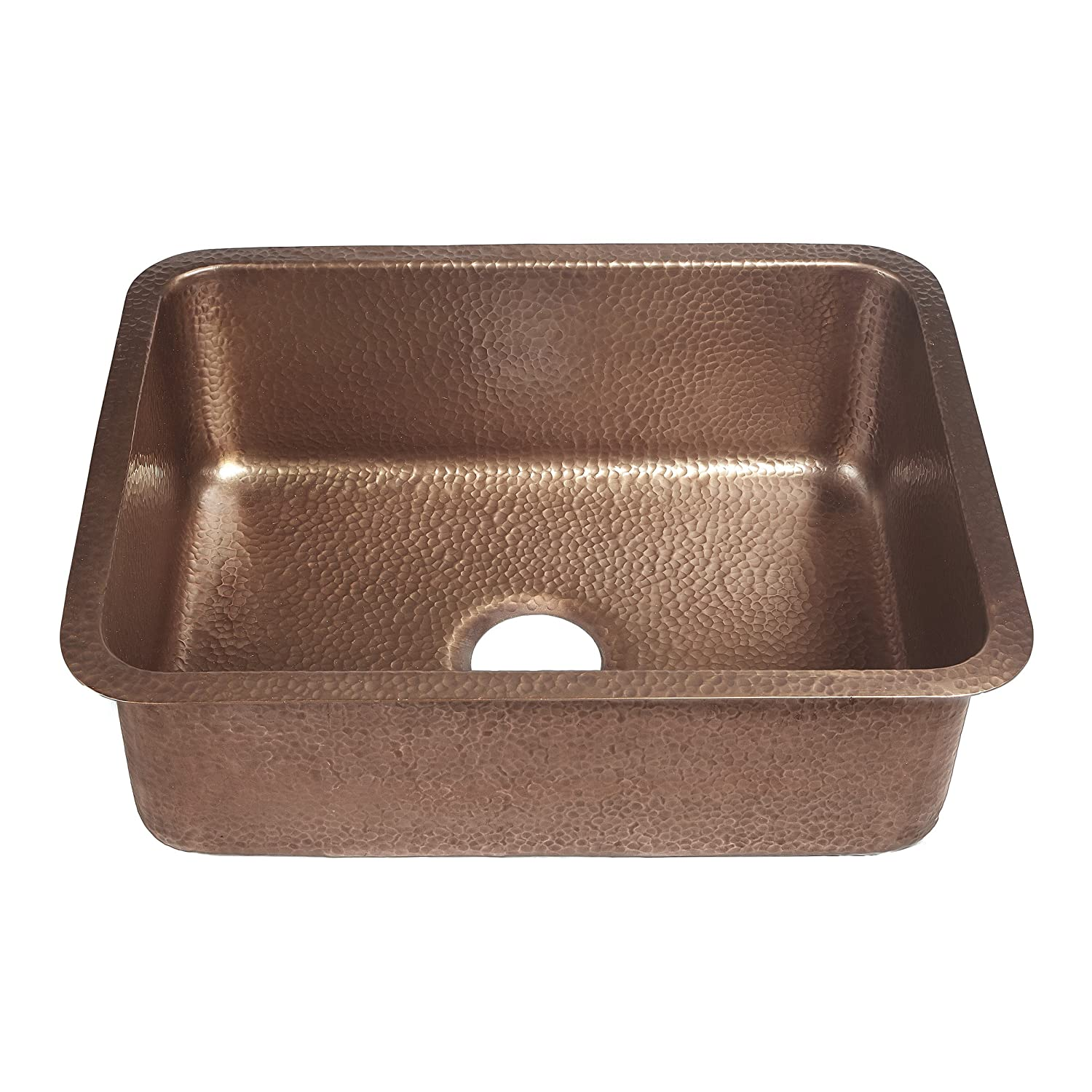 Sinkology SK201 23AC Classic Renoir Undermount copper Sink 23 In