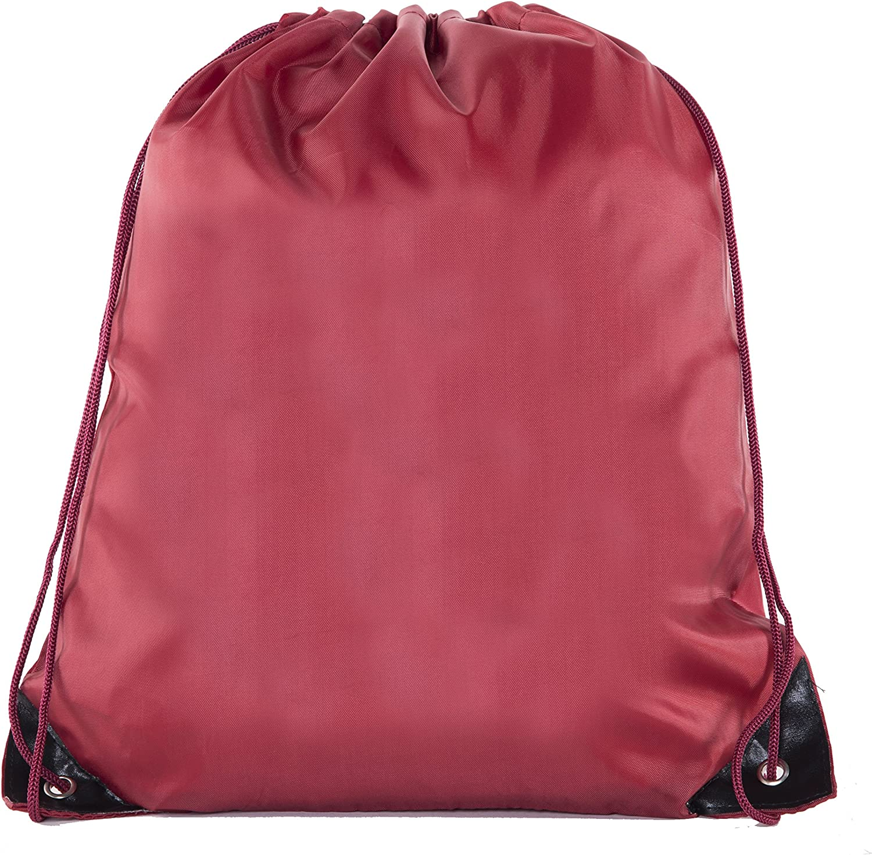 Mato /& Hash Drawstring Bulk Bags Cinch Sacks Backpack Pull String Bags 1PK-100PK Available 15 Colors