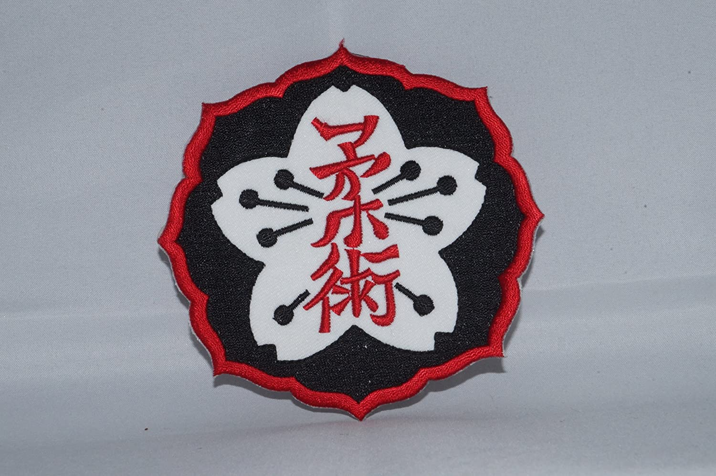 JIU-JITSU Patch Brazil juijitsu Iron on Patch Martial Arts Iron on to Sew