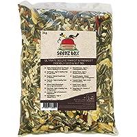 SeedzBox Mezcla Premium semillas y frutas para agapornis