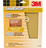3M SandBlaster 20180 Between Coats Sandpaper 9-Inch by 11-Inch, 180-Grit