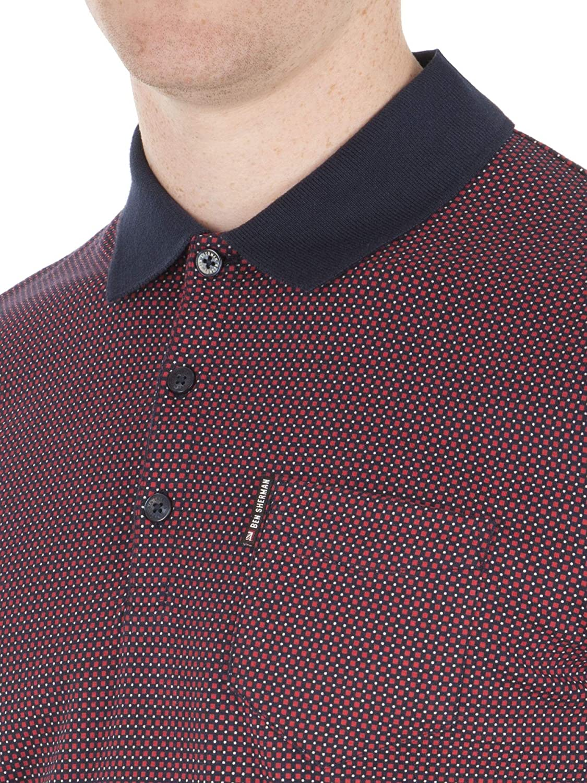 Ben Sherman - Polo - Básico - para Hombre Rojo 149 Red X-Large ...