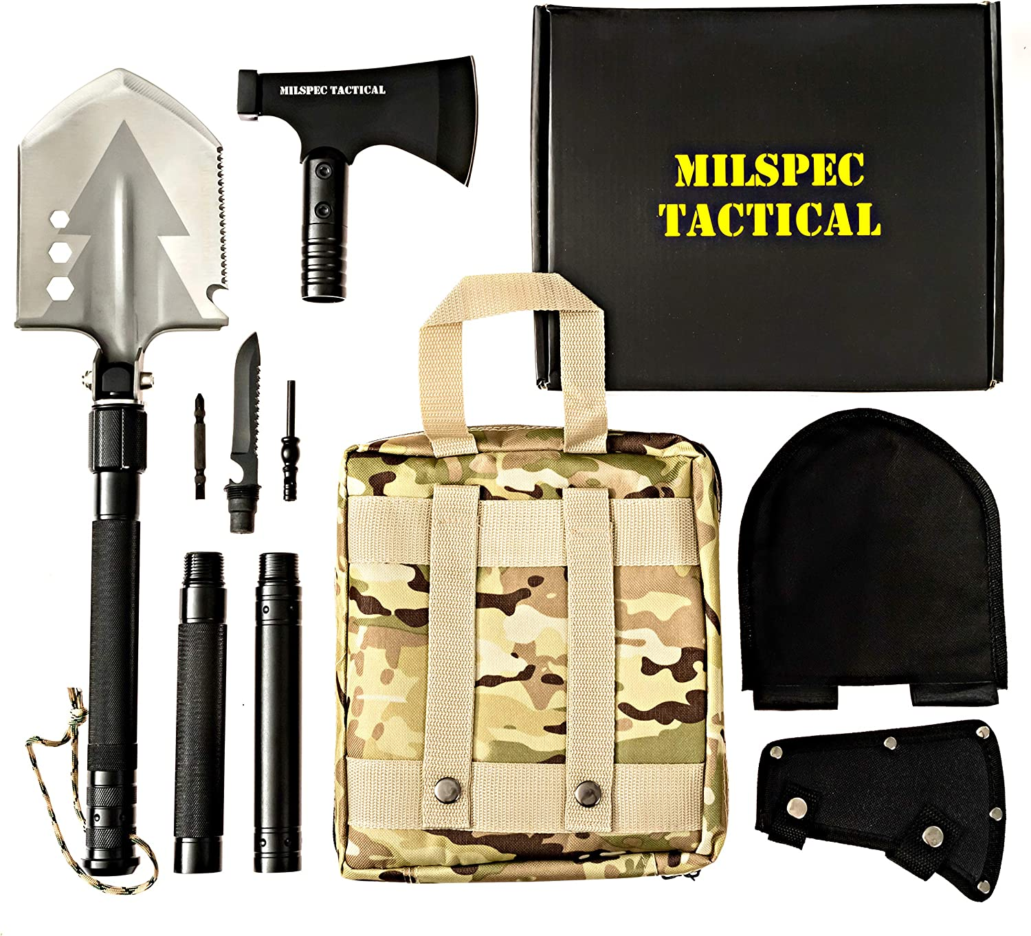 Military Folding Shovel Camping Survival Tactical Emergency Gear Outdoor Tools