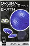Original 3D Crystal Puzzle - Earth