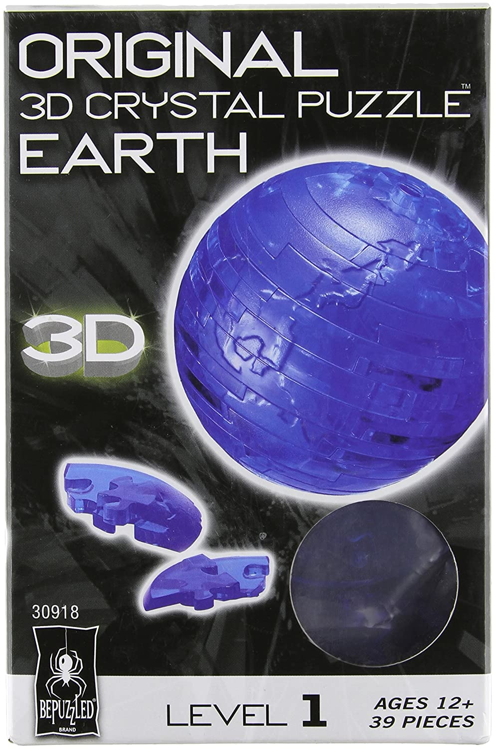 3D Crystal Puzzle - Earth University Games 30918
