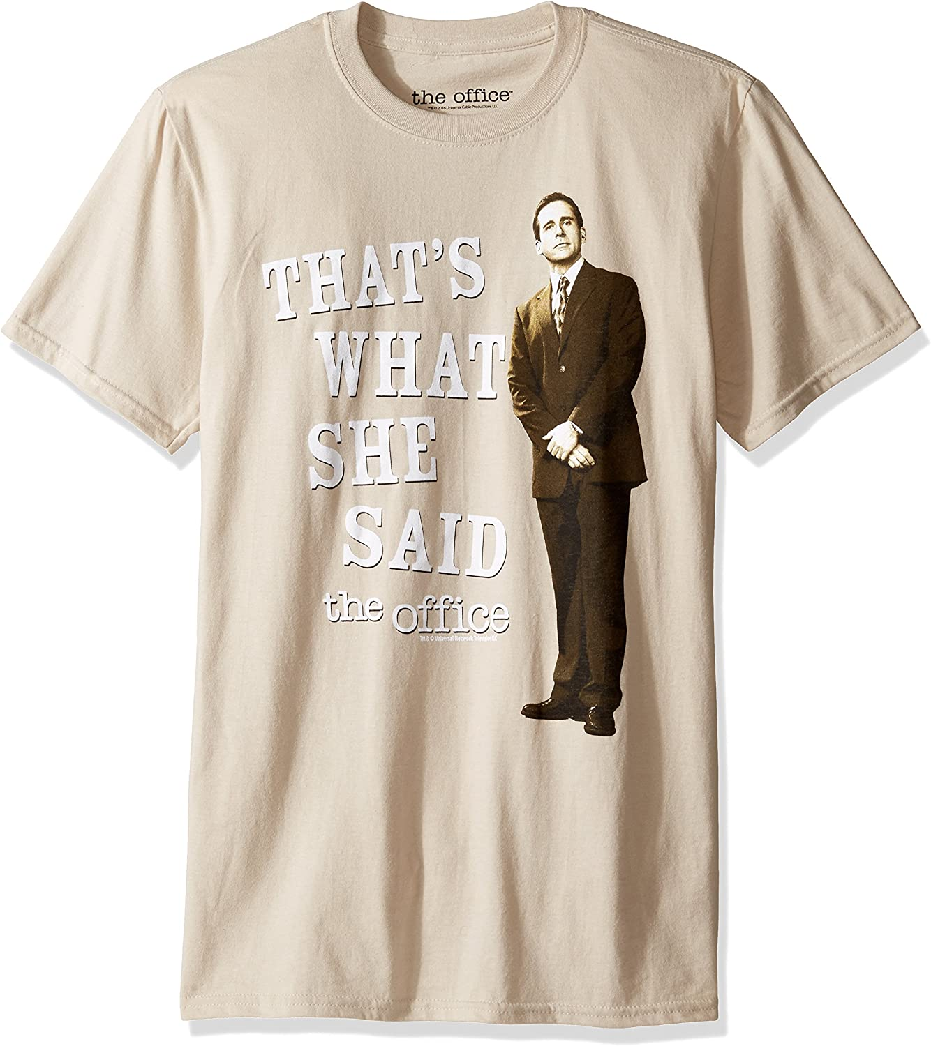 T-Line Men's The Office Tv Series That's What She Said Graphic T-Shirt