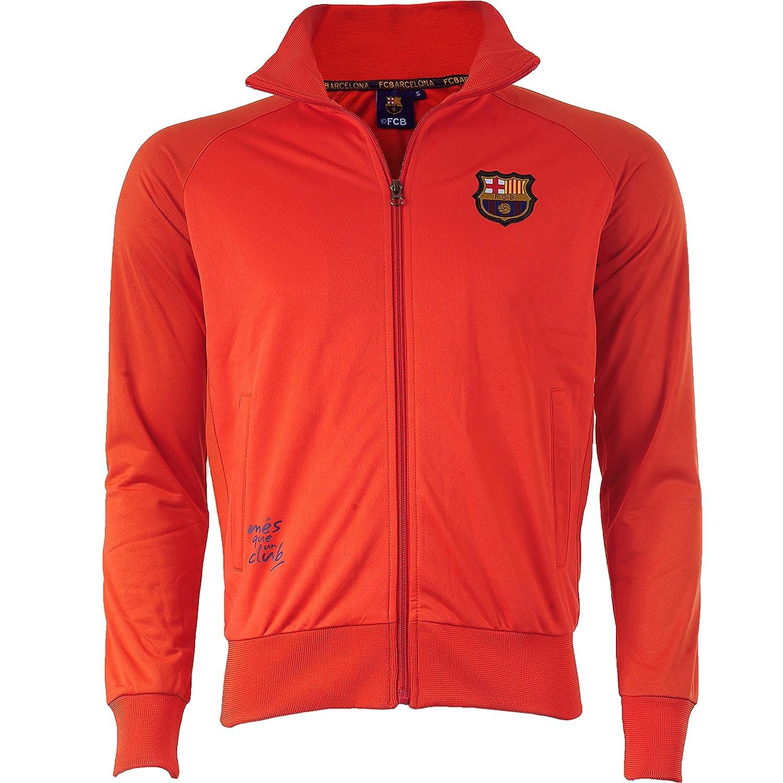 Fc Barcelone Barca – Collection Chaqueta Oficial para Hombre, Talla DE Adulto