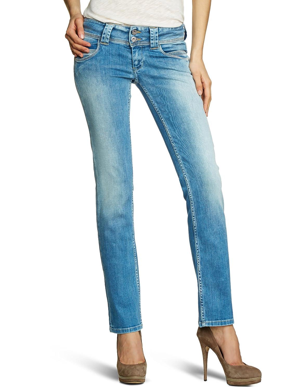 Pepe Jeans Damen Jeans PL200029Q262 VENUS Straight Fit (Gerades Bein) Niedriger Bund