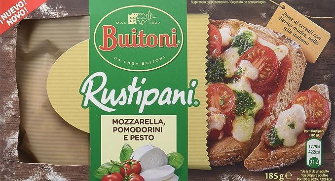 Buitoni Pizza Rustipani con Sabor Caprese