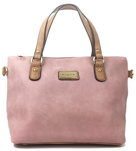 ffb78ae940 Designer Handbags for Women beautiful faux Nu Buck Leather handbag Italian  styled mini grab bag with