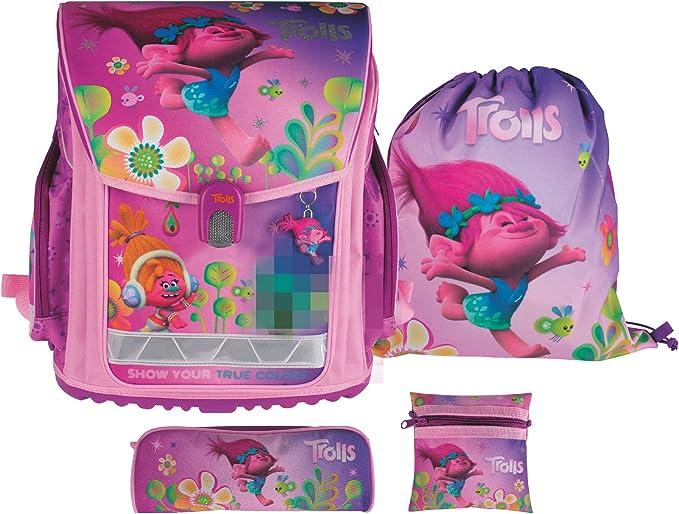 Dreamworks Trolls umfangreiches Set de mochila (, Set principiantes escolar, motivo de mochila y accesorios escolares (Incluye de diario, Glitter Glue y estuche/Funda Estuche/Muelle: Amazon.es: Oficina y papelería