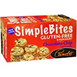 Pamela's Products Gluten Free Simplebites Mini Cookies, Chocolate Chip, 7 Ounce (Pack of 6)