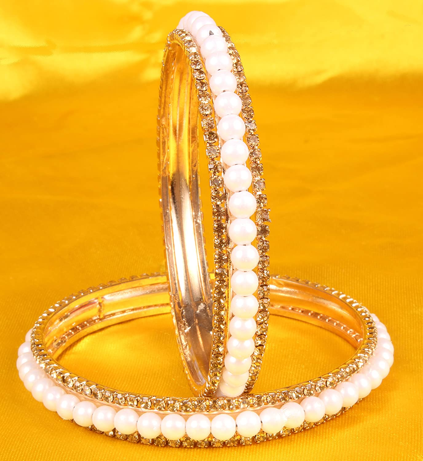 Women Fashion Gold Plated Indian Bangles Party wear Traditional Jewelry