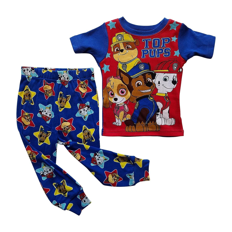 Paw Patrol Nickelodeon PJs Pajama Sleep Wear Set for Toddler Boys