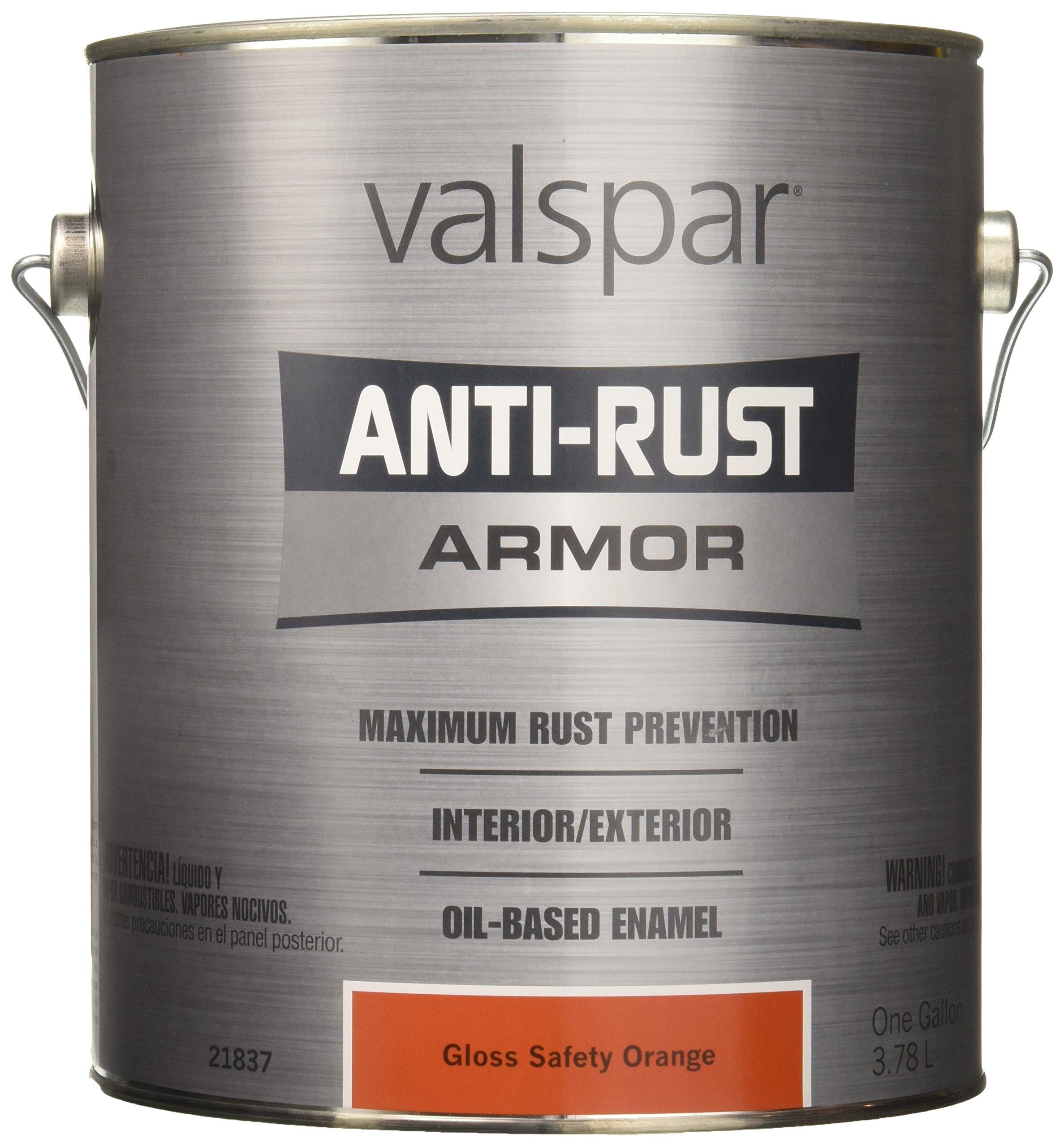 Valspar 21837G Safety Orange Enamel - 1 Gallon