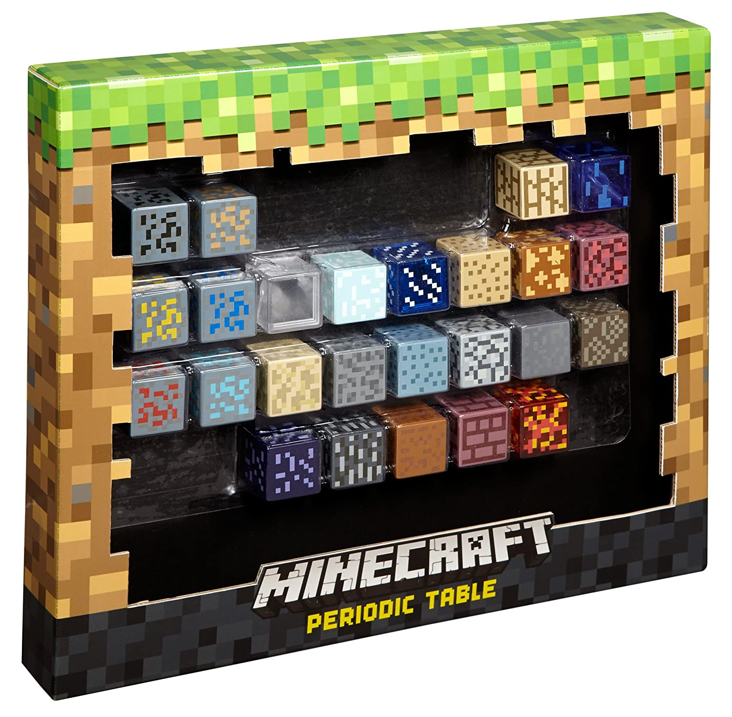 Amazon Mattel Minecraft Periodic Table Of Elements Toys Games